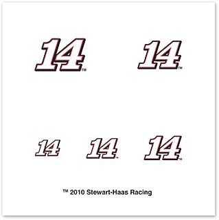 NASCAR Tony Stewart 20-Pack Mini Temporary Tattoos