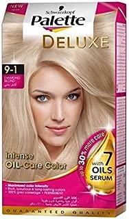 Schwarzkopf Palette Deluxe Oil Care Color 9-1 Diamond Blonde