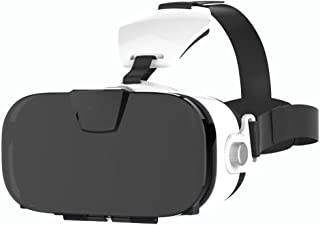 Virtual Reality Headset,VR Glasses,3D Goggles with Focal Length Adjustment Function and Blu Ray Lens,112deg; FOV,Suitable for 4.0-6.3 Inch Smartphones JIAJIAFUDR