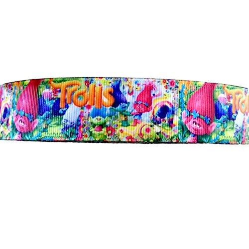 Trolls-Band, 2 m x 22 mm breit, mehrfarbig
