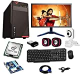 Rolltop Assembled Desktop Computer, Intel Core 2 Duo 3.0 GHZ Processor, G 31 Motherboard, 17 Inch LED, 4 GB RAM, Windows 7 & Office Trial Version with Web Camera, Wi Fi Adaptor, Mic Speaker ROLLTOP PC is Suitable for Office Work, Home Work, Education...