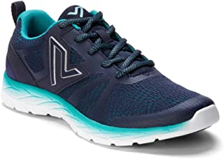 Women's Brisk Miles Lace-up Active Sneaker - Ladies Walking Sneakers with Concealed Orthotic Arch Support