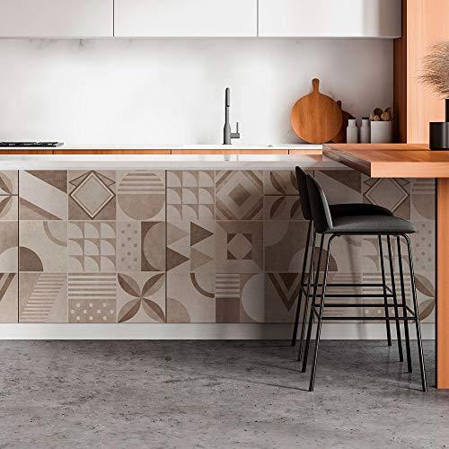 RA0199 - Lámina adhesiva para muebles y paredes, rollos de papel adhesivo de alta resolución con varios tamaños, para muebles, azulejos, mesas, armarios, cocinas