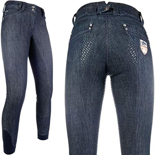 HKM PRO TEAM Miss Blink Easy Reithose jeansblau 50
