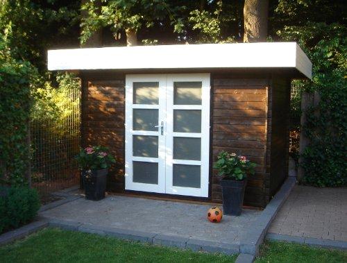 28 mm Gartenhaus 300 x 200 Minimodern ca. 300x200 cm (unbehandelt)