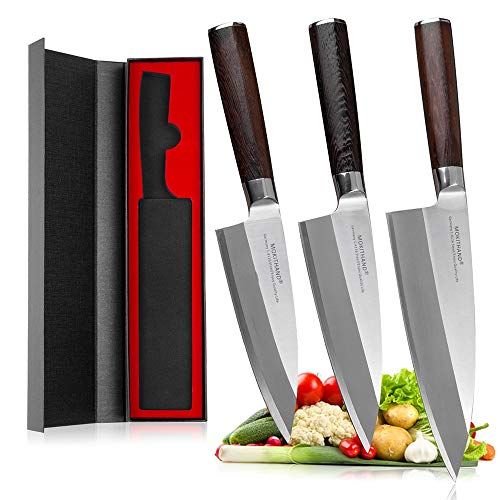 Best Quality Kitchen Knives Japanese Fish Filleting Knives High Carbon Germany 1.4116 Steel Sushi Salmon Knife Stainless Steel Knives
