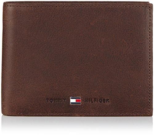 Tommy Hilfiger Herren JOHNSON CC AND COIN POCKET Geldbörsen, Braun (BROWN 204), 13x10x2 cm