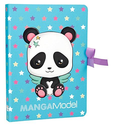 Depesche 6583Notas, Notes to go manga Model, Panda, multicolor , color/modelo surtido