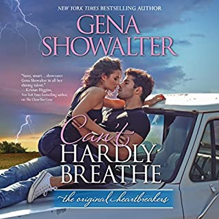 Can't Hardly Breathe     Original Heartbreakers              Written by:                                                                                                                                 Gena Showalter                               Narrated by:                                                                                                                                 Savannah Richards                      Length: 11 hrs and 55 mins     Not rated yet     Overall 0.0