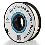 3D Solutech Natural Clear 1.75mm Flexible 3D Printer Filament 2.2 LBS (1.0KG) - FLEXCLR