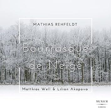 Bourrasque De Neige (For Violin and Piano)