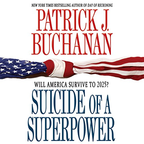 Suicide of a Superpower audiobook cover art