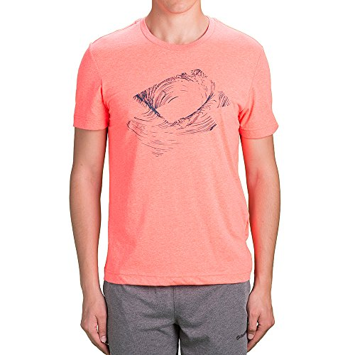 Lotto L73 III Tee Trace T-Shirt Homme Orange (ORA BRG/BLU INC)