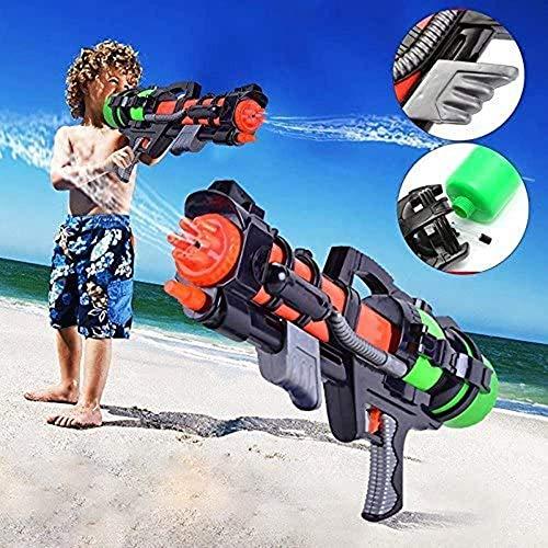 HYDD Pistola de Agua de Juguete para niños - Pistola de Agua Super Soakers,800 ml Water Blaster para niños y Adultos Verano 800 CC