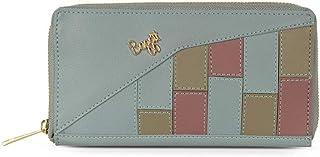 Baggit Spring/Summer 20 Women Faux Leather Blue Ziparound Wallet