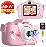 MITMOR Kids Digital Cameras for Girls Boys with 32G SD Card and Dual Lens 2.0...