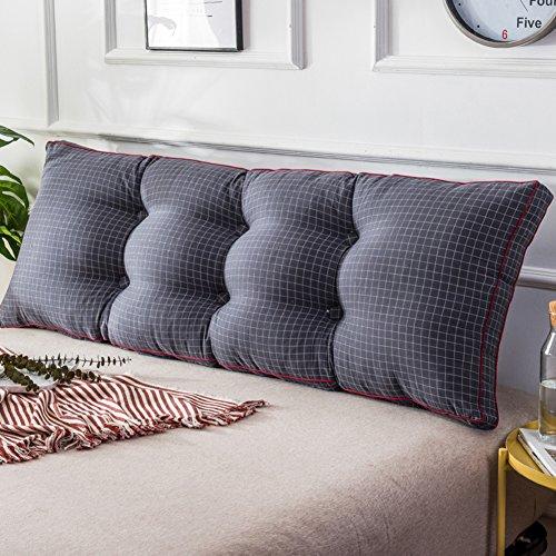 UYHSAUDGHFHE Gewassen katoenen bed kussen bed soft pack Japans tatami bed kussen twee personen lang kussen rugleuning voor bed designer lenden 150x20x50cm(59x8x20inch) C