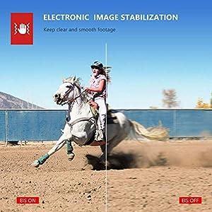 Victure AC700 Cámara Deportiva 4K Wi-Fi (Cámara de Accion Acuatica de 40M con Control Remoto y Micrófono Externo Funciones EIS Anti-Vibración y Slow Motion)