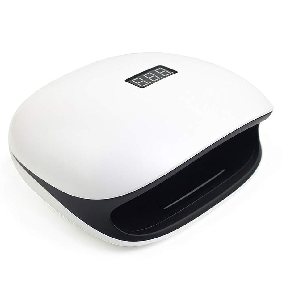 前部呼吸するパンフレット光線療法マシンインテリジェント誘導LEDネイルライト48Wゲル爪と爪の硬化用