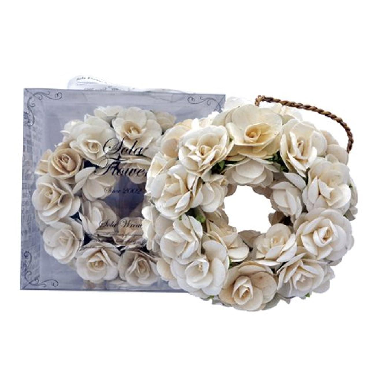 飲み込む補うおなじみのnew Sola Flower ソラフラワー リース Original Rose オリジナルローズ Wreath