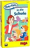 HABA 305548 - Ratz Fatz in die Schule, Spieleset mit 5 Aktionsspielen für 1-6 Spieler von 5-8 Jahren, Spieldauer 10 Minuten, Mitbringspiel für Kinder ab 5 Jahren und Geschenk für Schulanfänger