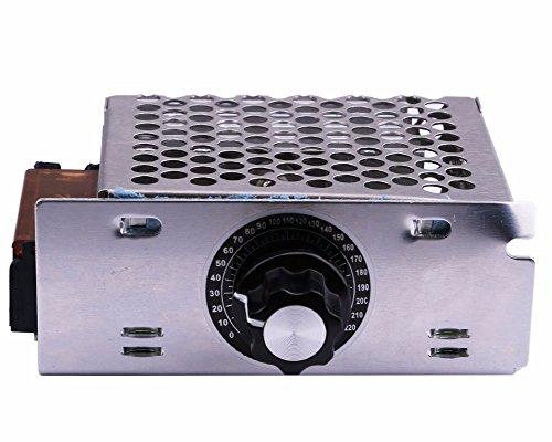 AC 220V 4000W Controlador de Velocidad de Motor, Velocidad Gobernador SCR Driver Board, el módulo regulador de Voltaje electrónico de tensión, la atenuación atenuador rectores del termostato