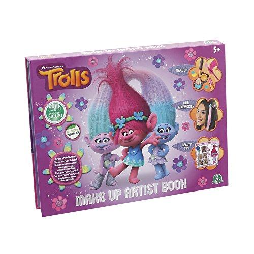 Giochi Preziosi Trolls Make Up Artist Set Trucchi Bambina con Ombretti e Lucidalabbra