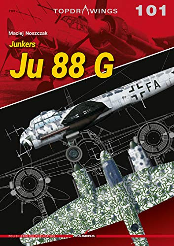 Junkers Ju 88 G (Top Drawings)
