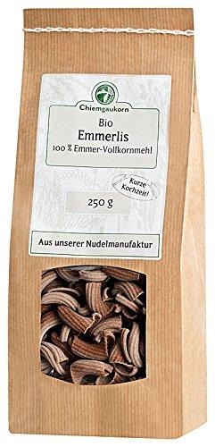 Chiemgaukorn Bio Emmerlis, 250 g, Nudeln aus Emmer