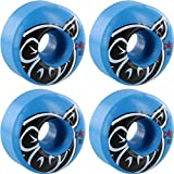 Pig Wheels Proline Pig Head Blue Skateboard Wheels - 52mm 101a (Set of 4)
