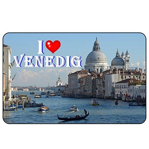 Cadora Magnetschild Kühlschrankmagnet I Love Venedig I