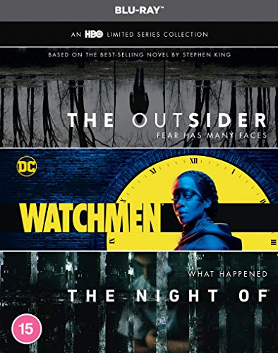 An HBO Limited Series Collection [The Outsider   Watchmen   The Night Of] [Blu-ray] [2020] [Region Free]