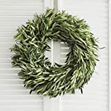 Fresh Handmade Wreath - Olive Branch Wreath (various sizes available) for Front Door, Chur...