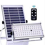 Luci solari esterne, ALFLASH 1500 Lumen 65 LED Luci di sicurezza per sensori di movimento solari 6600 mAh Impermeabili Solar Powered Light Lampade da parete per esterni Lampada solare (12)