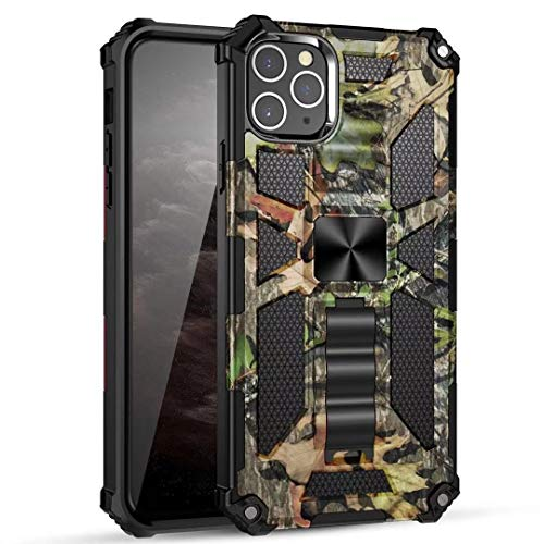 AmeriCase | iPhone 12 Pro Max | Camo Defender Camouflage Hunting Camo Case Hybrid Cover iPhone 12 Pro Max 6.7 (Camo Jungle)