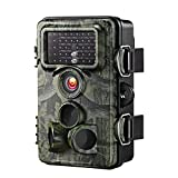 VicTsing Trail Camera, 0.2s Trigger Time 2.4 LCD, 12MP 1080P, Night Vision Game&Hunting Camera,Low...