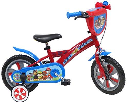 "EDEN-BIKES - Bicicleta Infantil de la Patrulla Canina, Multicolor, 14\"""