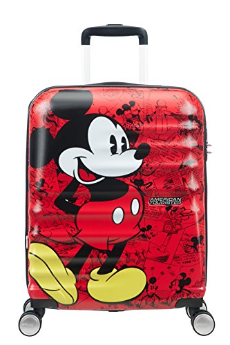 American Tourister - Disney Wavebreaker, Children's Cabin Luggage, Red
