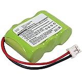 subtel® Batería Premium Compatible con Dogtra 200NCP 202NCP 210NCP 280NCP 282NCP 2200NCP 150NCP 175NCP 2 Dog EF-3000 YS-200 YS-500 Element 300M, 35AAAH3BMX BP20R 210mAh bateria Repuesto Pila