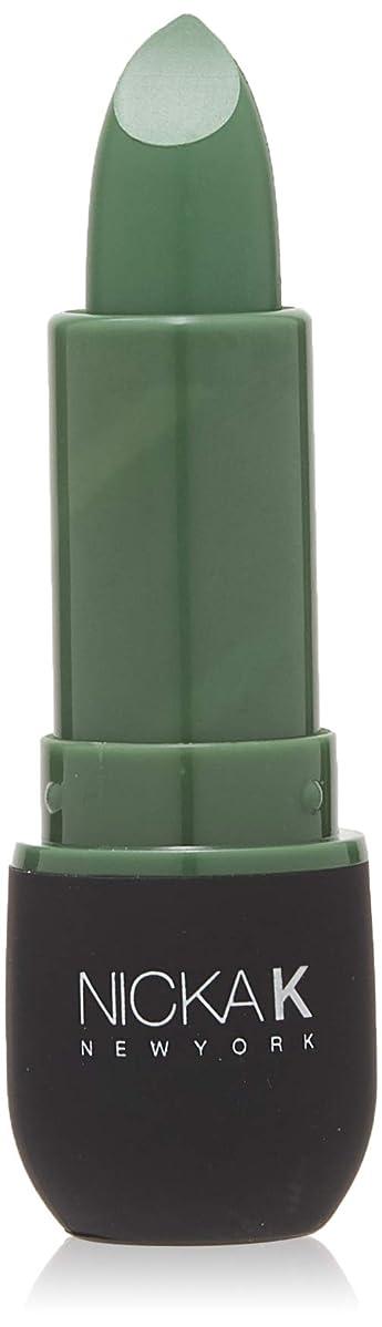 自然慢なサスペンションNICKA K Vivid Matte Lipstick NMS11 Sea Green (並行輸入品)