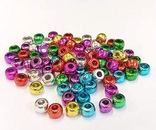 Plastic Beading Beads (300pcs) Metallic Mix (80g), Docrafts, Jewelry Making