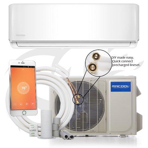 MRCOOL COMFORT MADE SIMPLE 12k BTU 17.5 SEER MrCool DIY Ductless Heat Pump Split System - Wall...