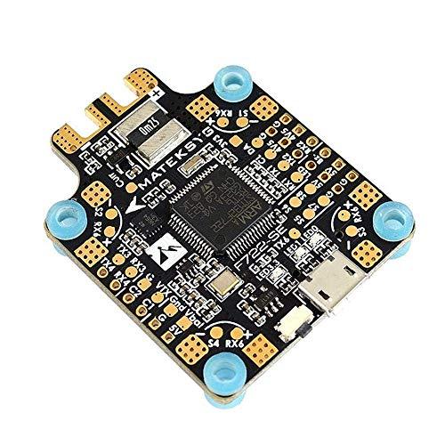 Matek System F722-SE F7 Flight Controller w/OSD Dual Gryo BEC Current Sensor Black Box for 4 5 6 inch 210 220 230 240 250 Carbon Fiber FPV Racing Drone Quad Quadcopter Frame X H Frame