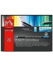 Caran D'ache Museum Aquarelle Pencil Sets Marine set of 20 colours (3510.920)
