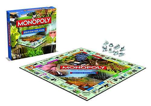MONOPOLY EDITION DES VINS - Jeu de société