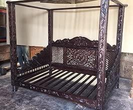 teak 4 poster bed