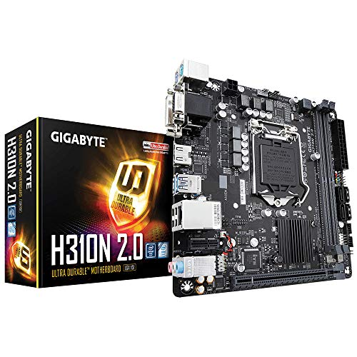 Gigabyte H310N 2.0 scheda madre LGA 1151 (Presa H4) Mini ITX Intel H310 Express