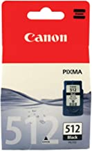 Canon PG-512  Cartucho de tinta original Negro (15 ml) para Impresora de Inyeccion de tinta Pixma MX320,330,340,350,360,410,420-MP230,240,250,252,260,270,272,280,282,480,490,492,495,499-IP2700,2702