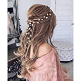Catery Leaf Bride Wedding Headband Pearl Hair Vine...