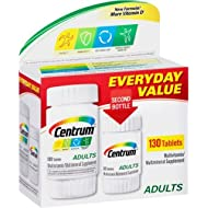CENTRUM MULTIVITAMIN FOR ADULTS TABLETS 100 CT + 30 CT BONUS